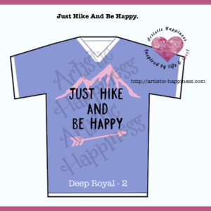Just Hike Shirt Deep Royal 2