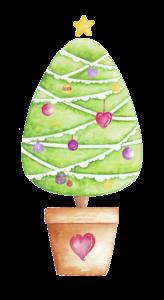 Artistic Happiness Chrsitmas Tree