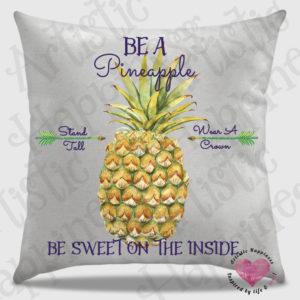 16×16 Pineapple Pillow Mockup