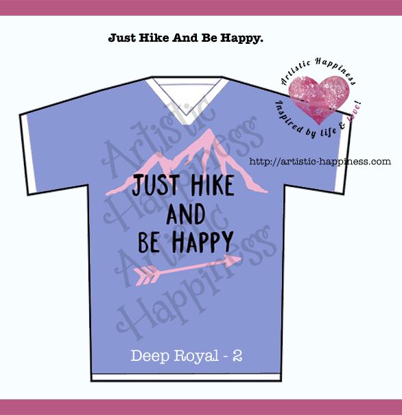 Just Hike Shirt Deep Royal 2